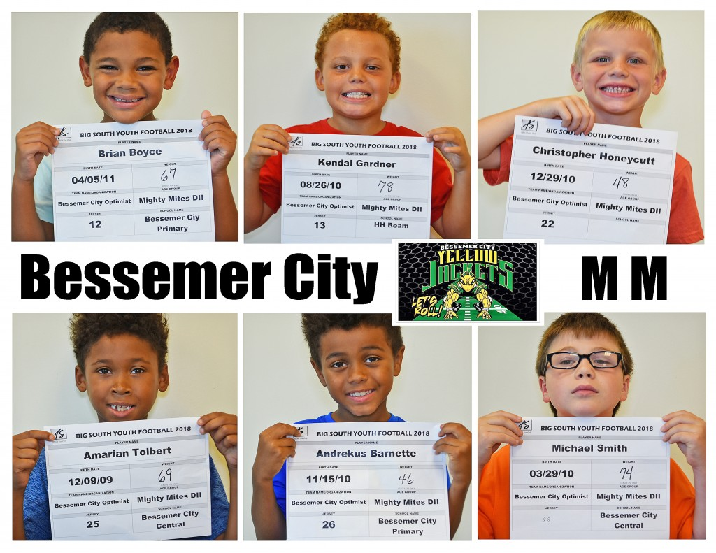 Bessemer City MM Roster page 2