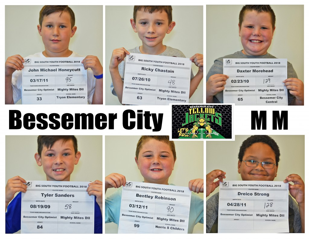 Bessemer City MM Roster page 3