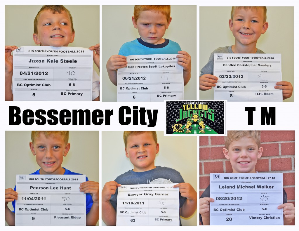 Bessemer City TM Roster page 1 replace