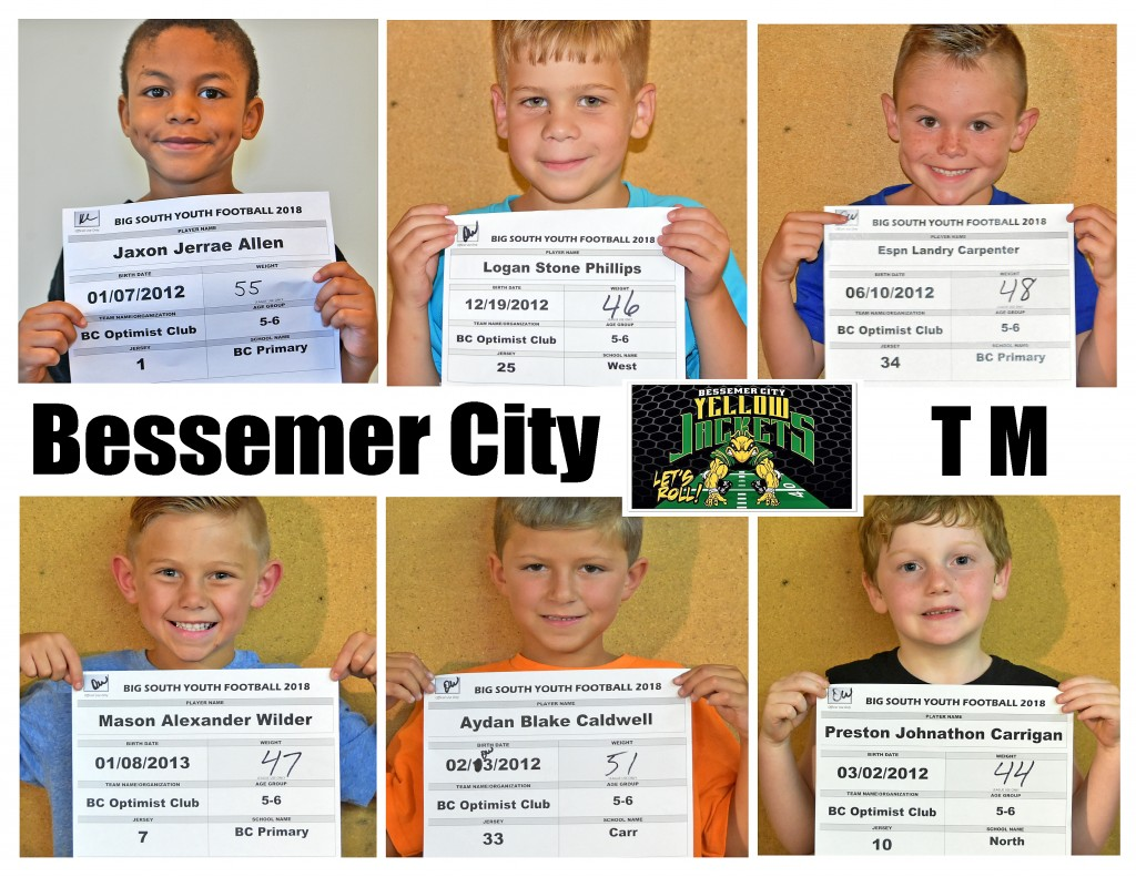 Bessemer City TM Roster page 2