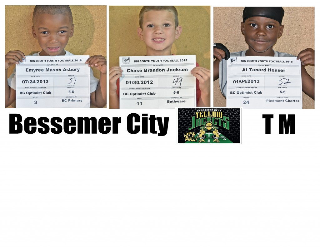 Bessemer City TM Roster page 3