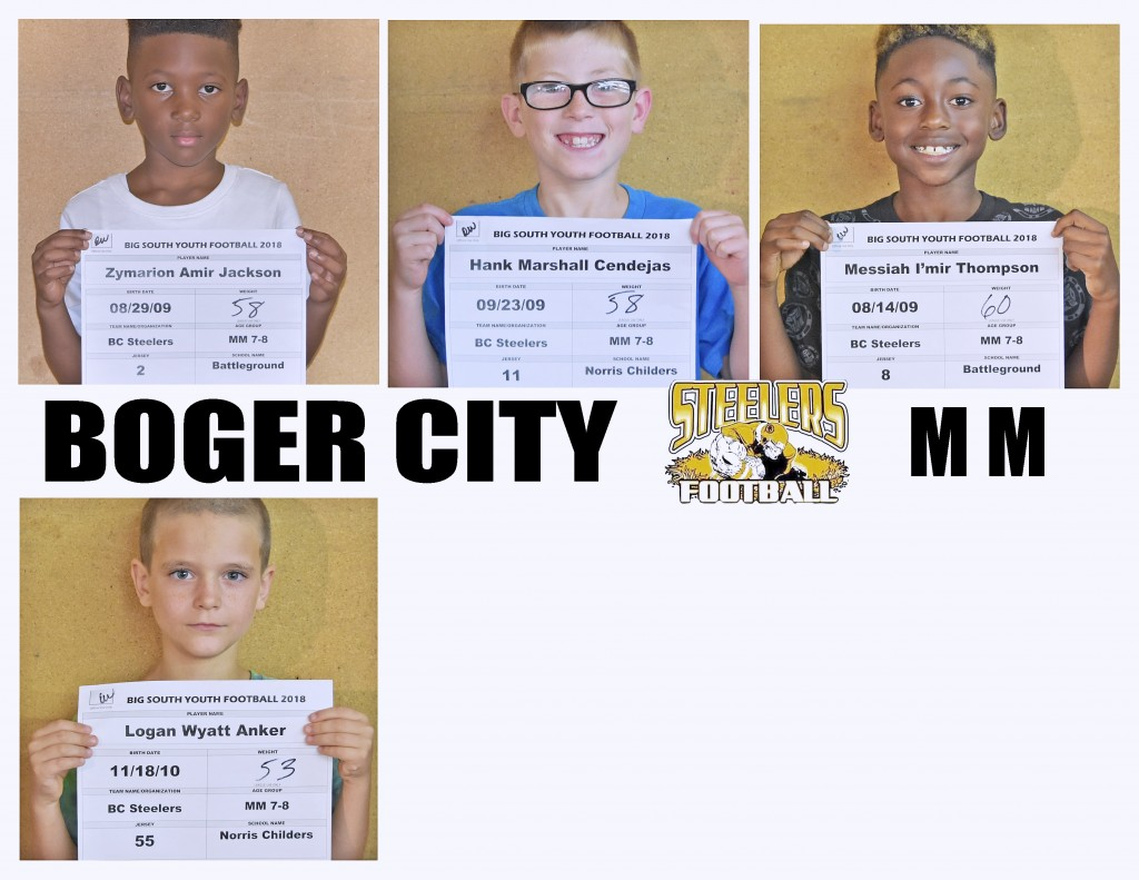 Boger City Steelers MM Roster page 4