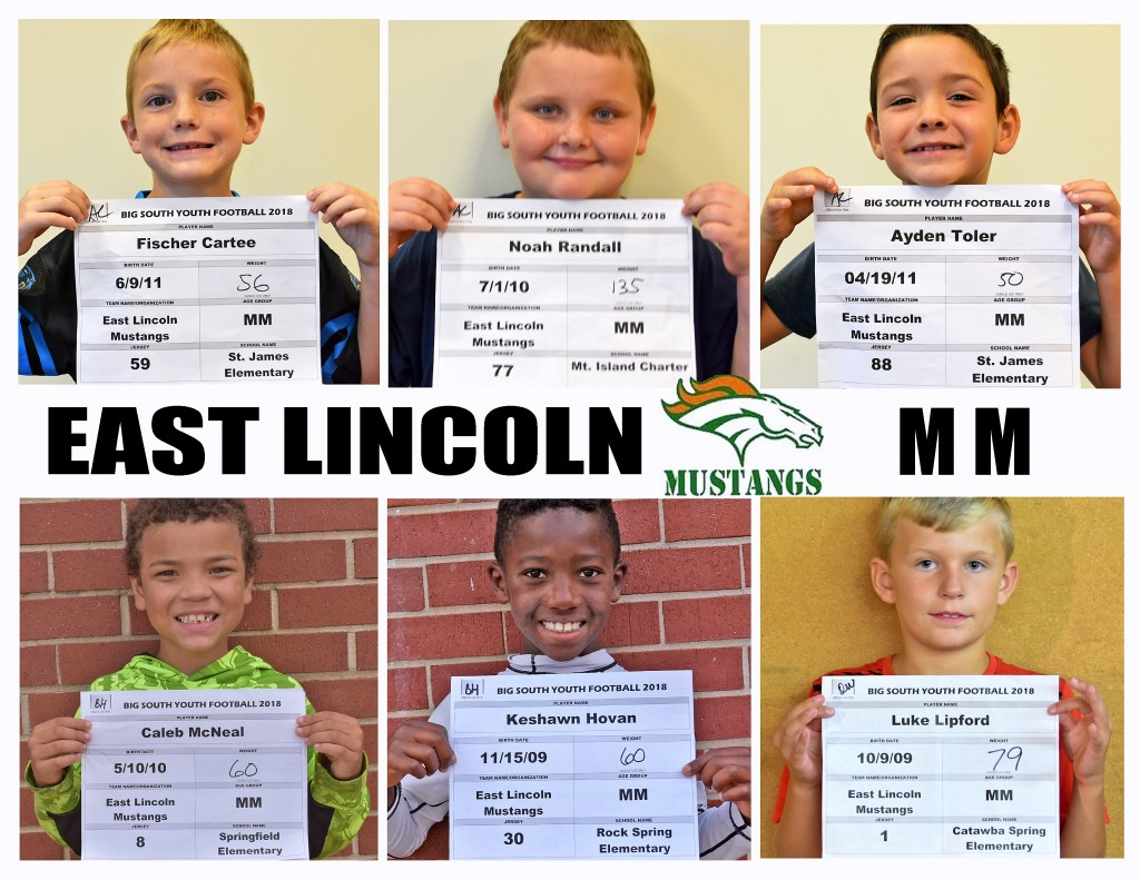 East Lincoln Mustangs MM Roster page 4