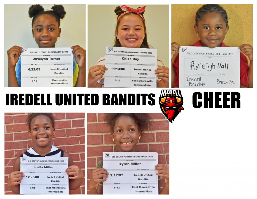 Iredell United Cheer Roster page 3