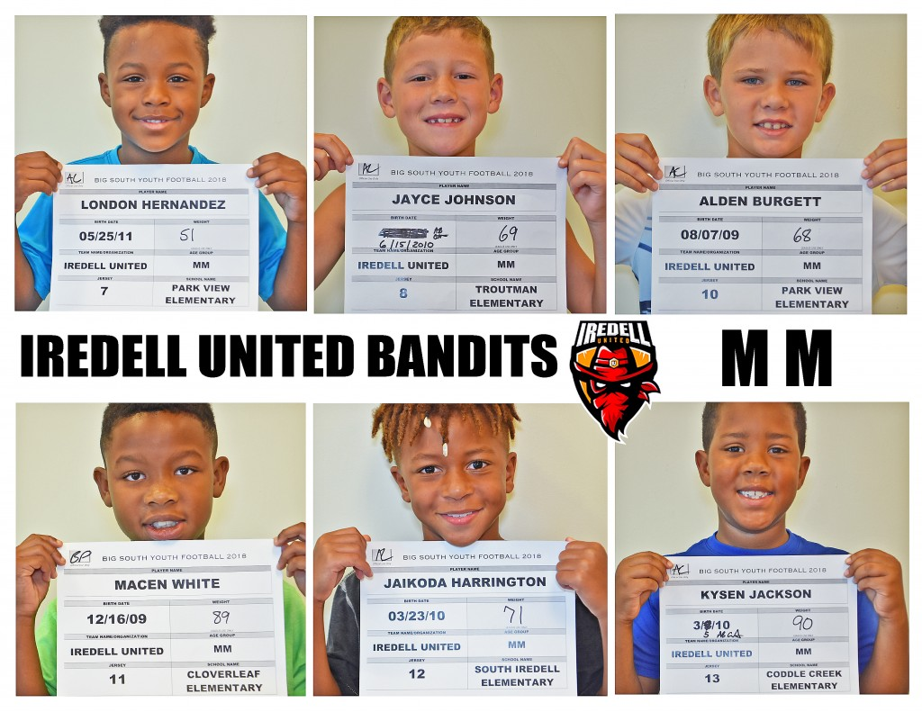 Iredell United MM Roster 2 NEW