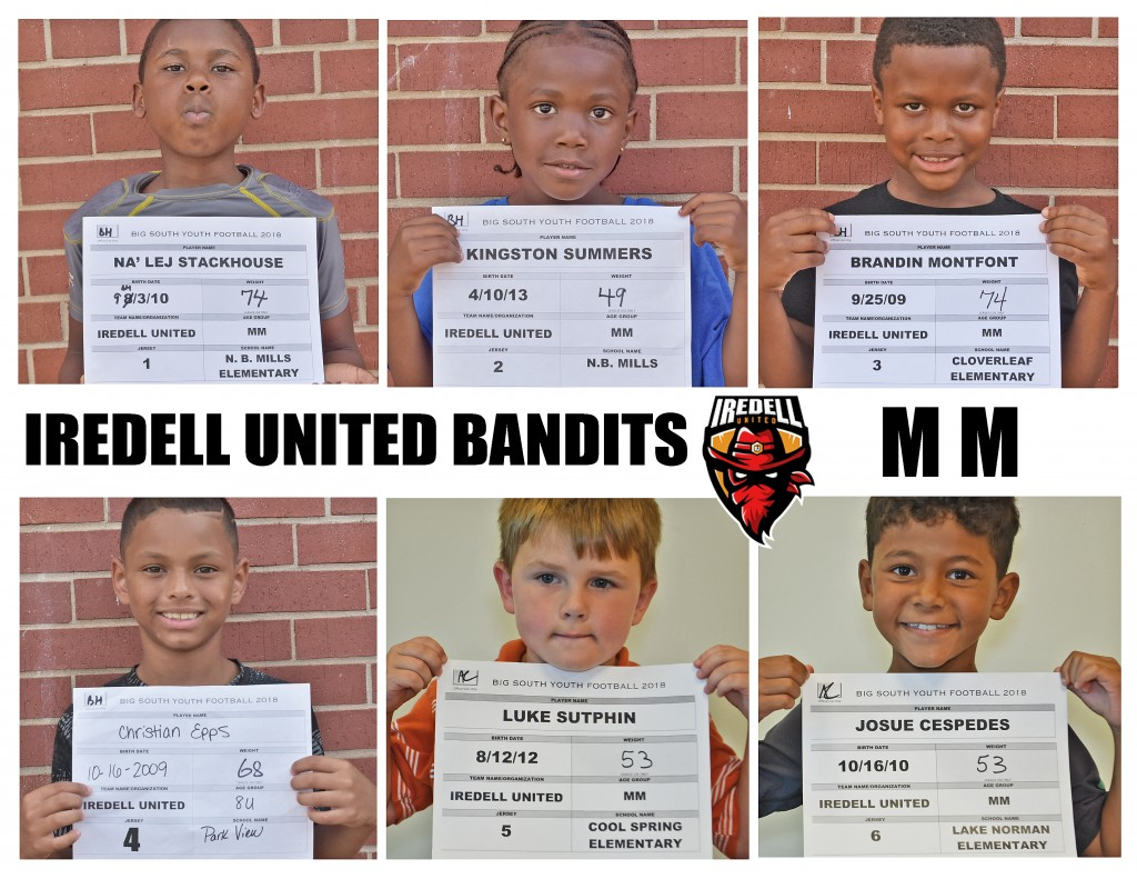 Iredell United MM Roster page 1 NEW