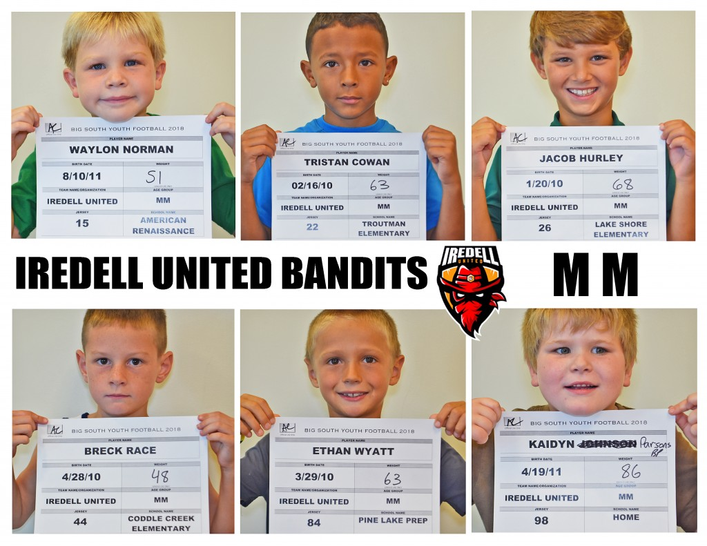 Iredell United MM Roster page 3 NEW