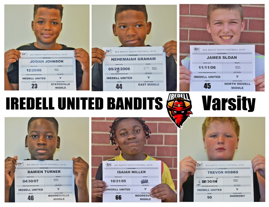 Iredell United Varsity Roster page 4 NEW
