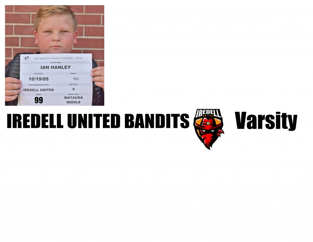 Iredell United Varsity Roster page 5 NEW