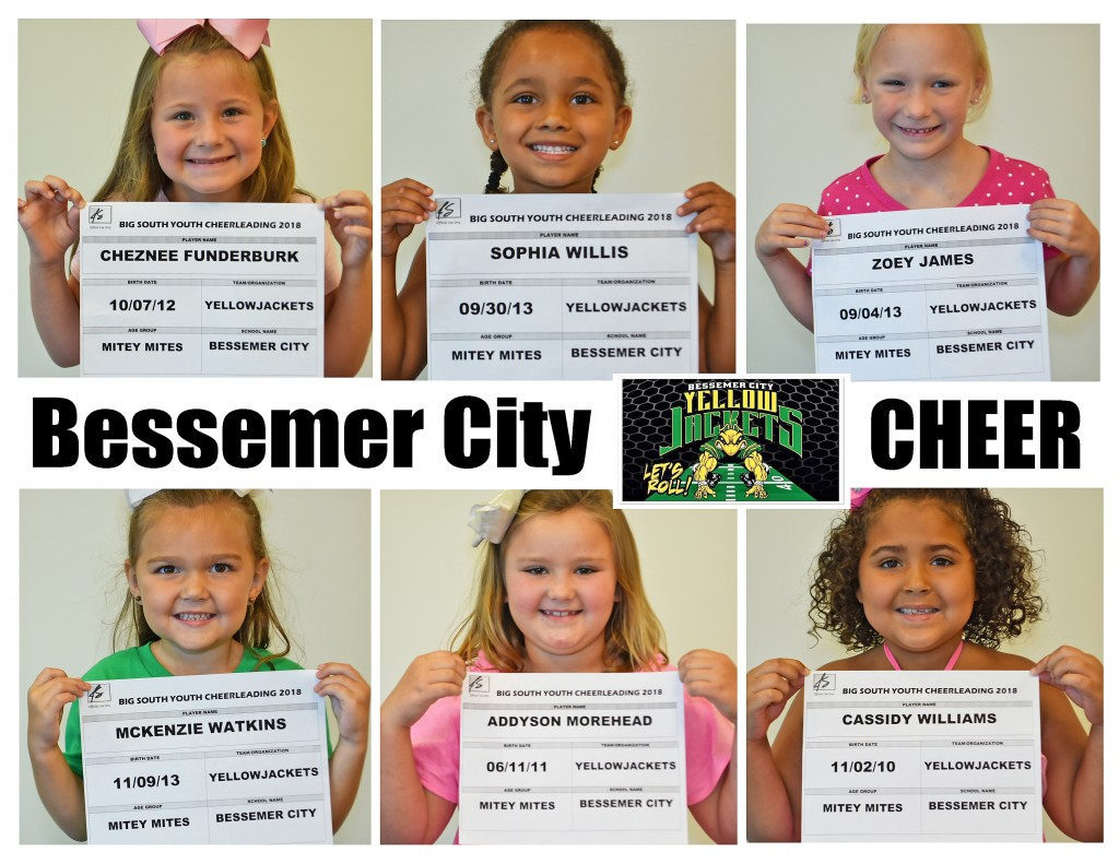 MM Cheer Bessemer City Roster Page 1