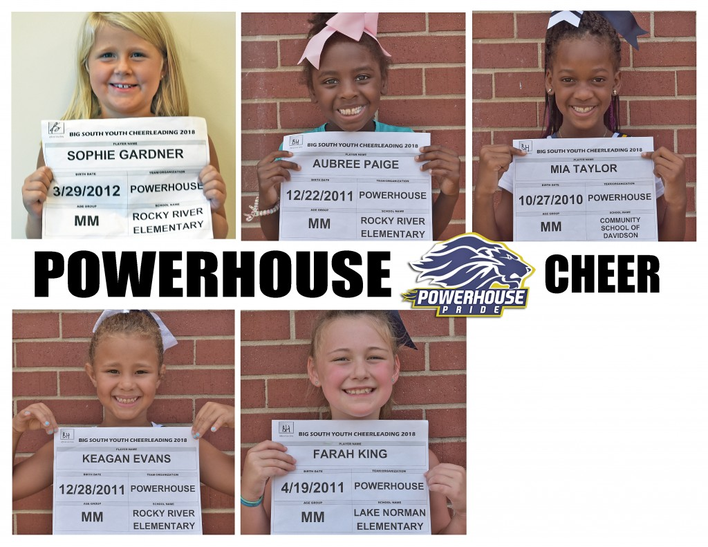 Mooresville Powerhouse Cheer Roster page 2