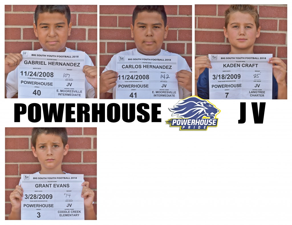 Mooresville Powerhouse JV Roster page 5