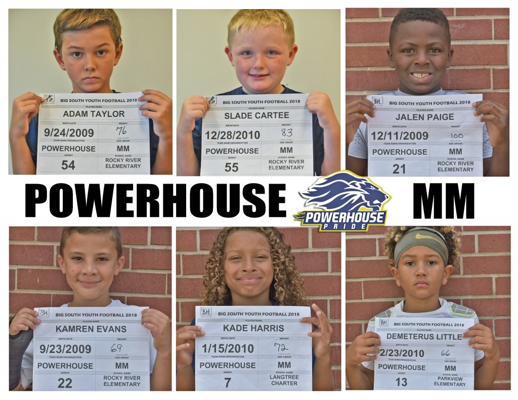 Mooresville Powerhouse MM Roster page 3