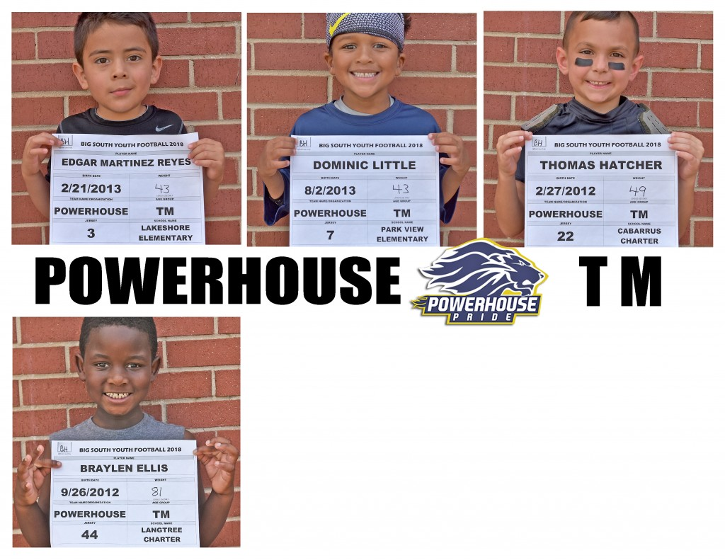 Mooresville Powerhouse TM Roster page 3