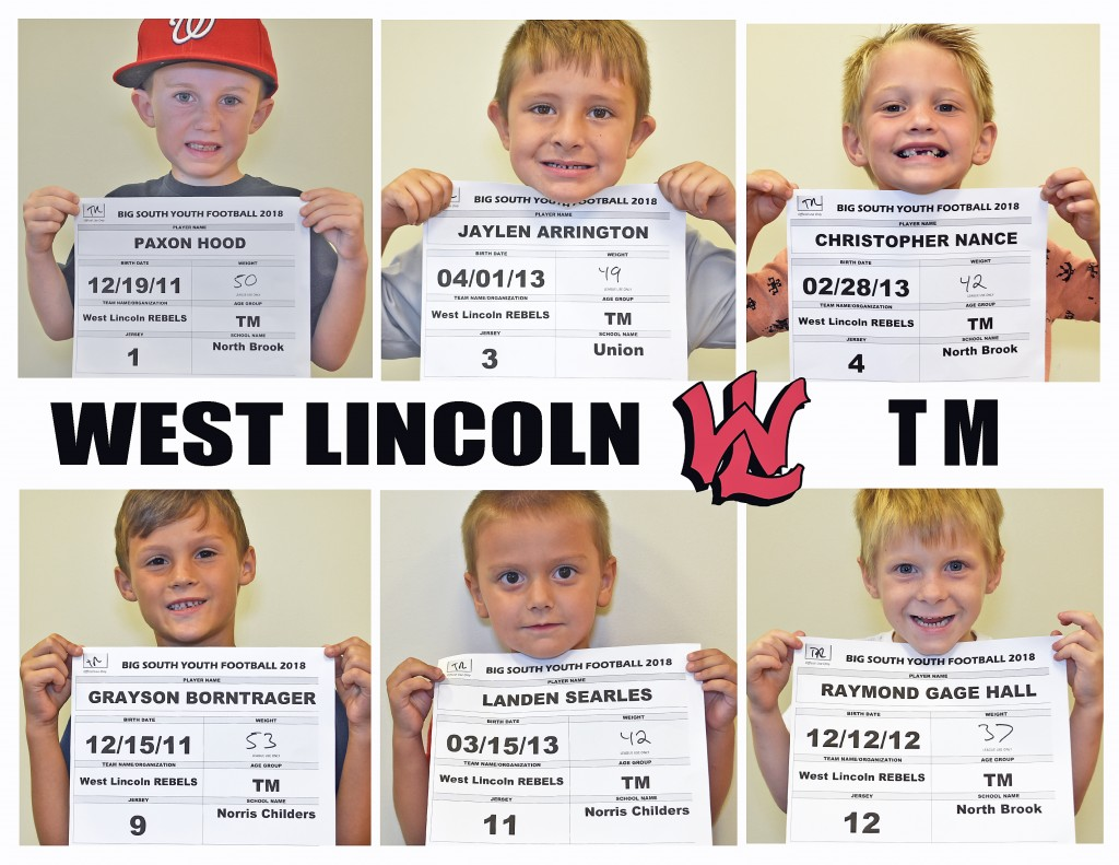West Lincoln Rebels TM Roster page 1