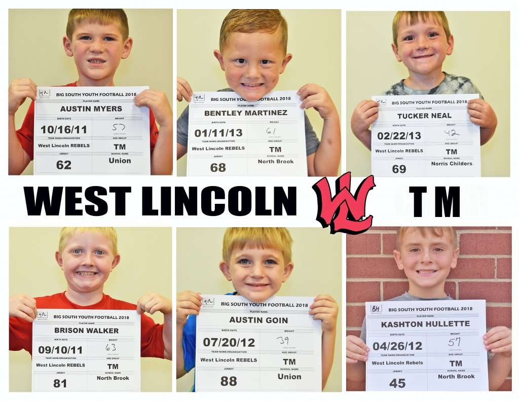West Lincoln Rebels TM Roster page 3