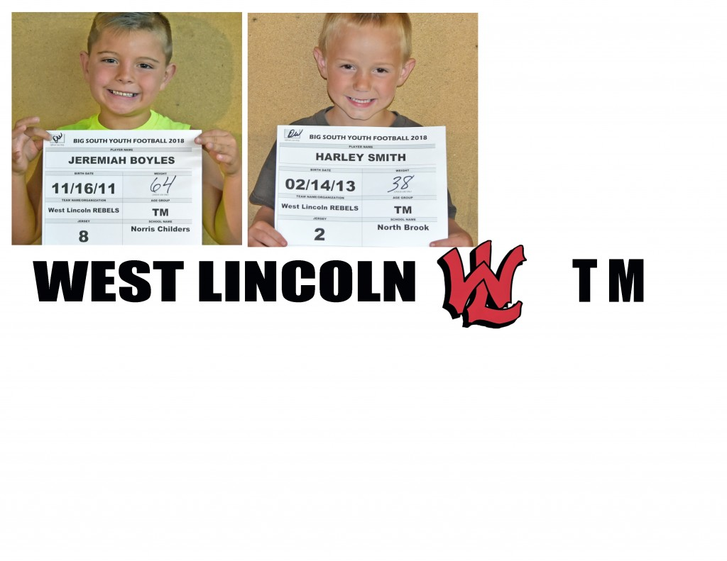 West Lincoln Rebels TM Roster page 4