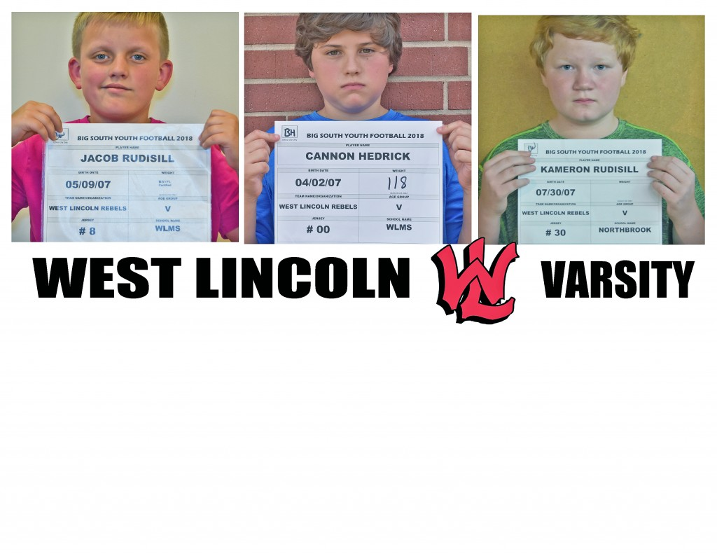 West Lincoln Rebels Varsity Roster page 5